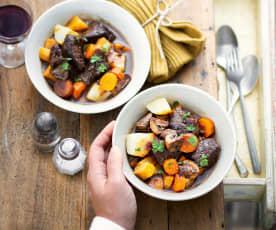 Ragoût de bœuf aux légumes