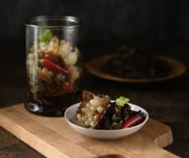 苦瓜滷梅乾菜