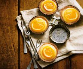 Tartelettes à l'orange