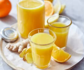 Witaminowe shoty pomarańczowo-imbirowe