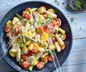 """Spargel-Kartoffelsalat """"Sylter Art"""""""