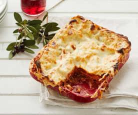 Lasagne mit Parmesan-Béchamelsauce