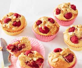 Erdnuss-Himbeer-Muffins