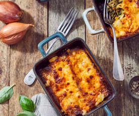 Lachs-Spinat-Cannelloni