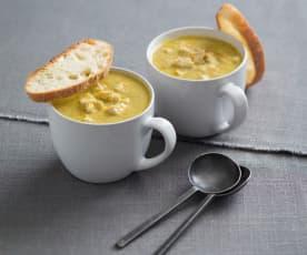 """Hug in a mug"" chicken soup"