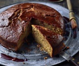 Rotwein-Bratapfel-Kuchen