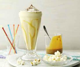 Milkshake banane-confiture de lait