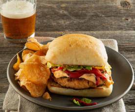 Blackened Fish Burger
