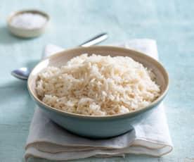 Gotowanie 250 g ryżu parboiled