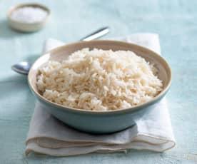 Gotowanie 350 g ryżu parboiled
