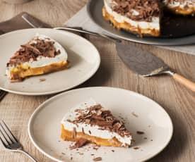 Tarta de plátano y dulce de leche (Banoffee pie)