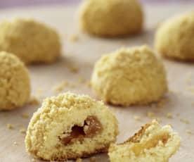 Erdnuss-Karamell-Kekse