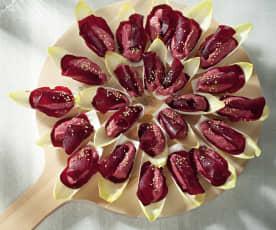 Hummus van rode biet