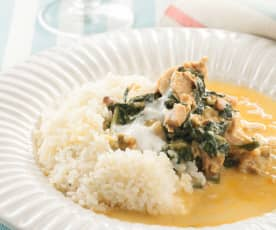 Chicken Curry with Spinach