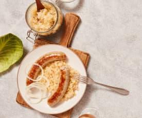 Sauerkraut, wild fermentiert