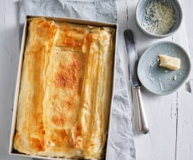 Torta salata a formaggio Brie