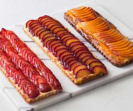 Brioche fruit tarts