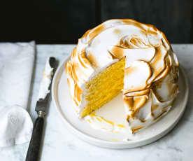 Gâteau meringué au citron
