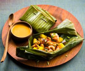 Poulet aux noix de cajou et basilic thaï