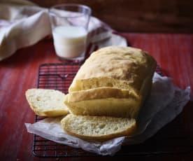 Pan de caja blanco
