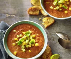 Sweet Hot Gazpacho