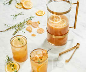 Bourbon Ginger Fizz