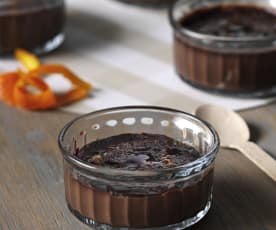 Crema catalana de chocolate
