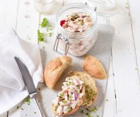 Leichter Wurstsalat