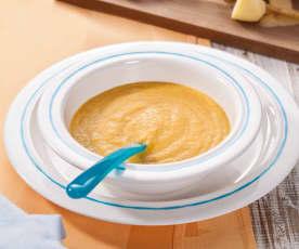 Grundrezept Gemüse-Kartoffel-Getreide-Brei (Grundrezept für eine vegetarische Alternative zum Gemüse-Kartoffel-Fleisch-Brei)