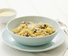 Mushroom risotto (TM6)