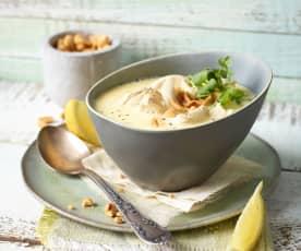 Geflügel-Zitronen-Suppe