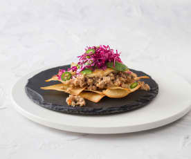 Asian nachos