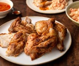 Pollo piri piri con ensalada de verduras (MEATER)