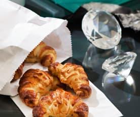 Croissants de mantequilla (Desayuno con diamantes)