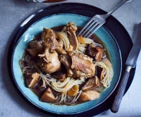 Hähnchen-Pilz-Eintopf (小鸡炖蘑菇)