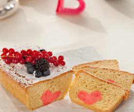 Cake con corazón