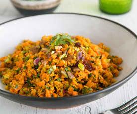 Spiced carrot salad