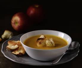 蘋果紅蘿蔔濃湯