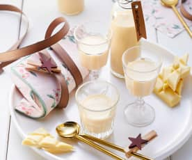 Mandlový likér s bílou čokoládou