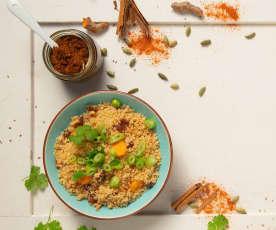 Currypaste mit frischem Kurkuma