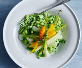 Knöpfli con verdure