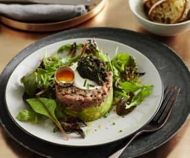 Rindfleisch-Tatar