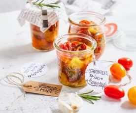 Ofen-Tomaten im Honigsud