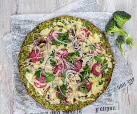 Gluten-Free Veggie Pizza Crust