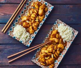 Pollo con le mandorle (per 2 persone)