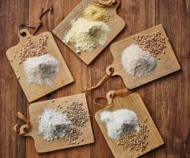 Graines de céréales moulues (100 g)