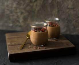 Quark chocolate mousse
