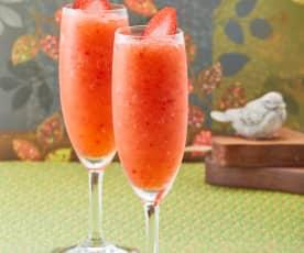 Pink lemonade mimosa