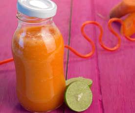 Jugo integral de zanahoria