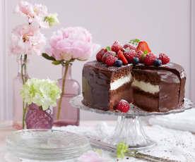 Schokoladen-Torte